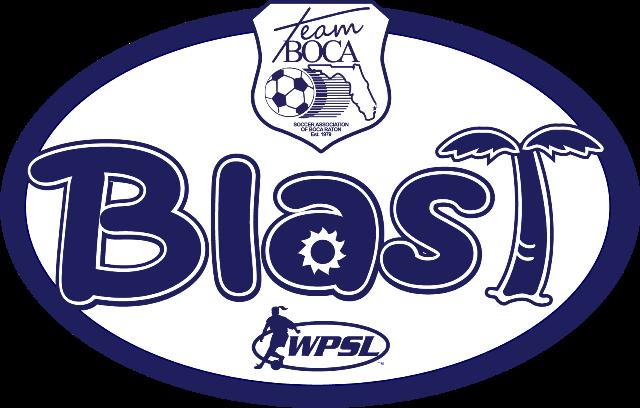 Team Boca Blast Logo - WPSL