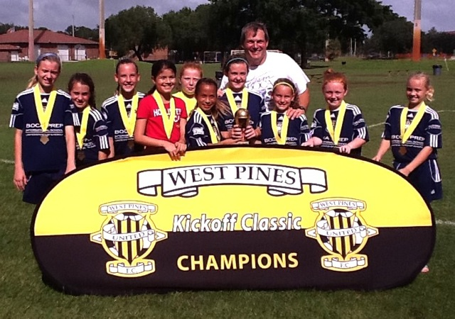 2012 West Pines Kickoff Champions