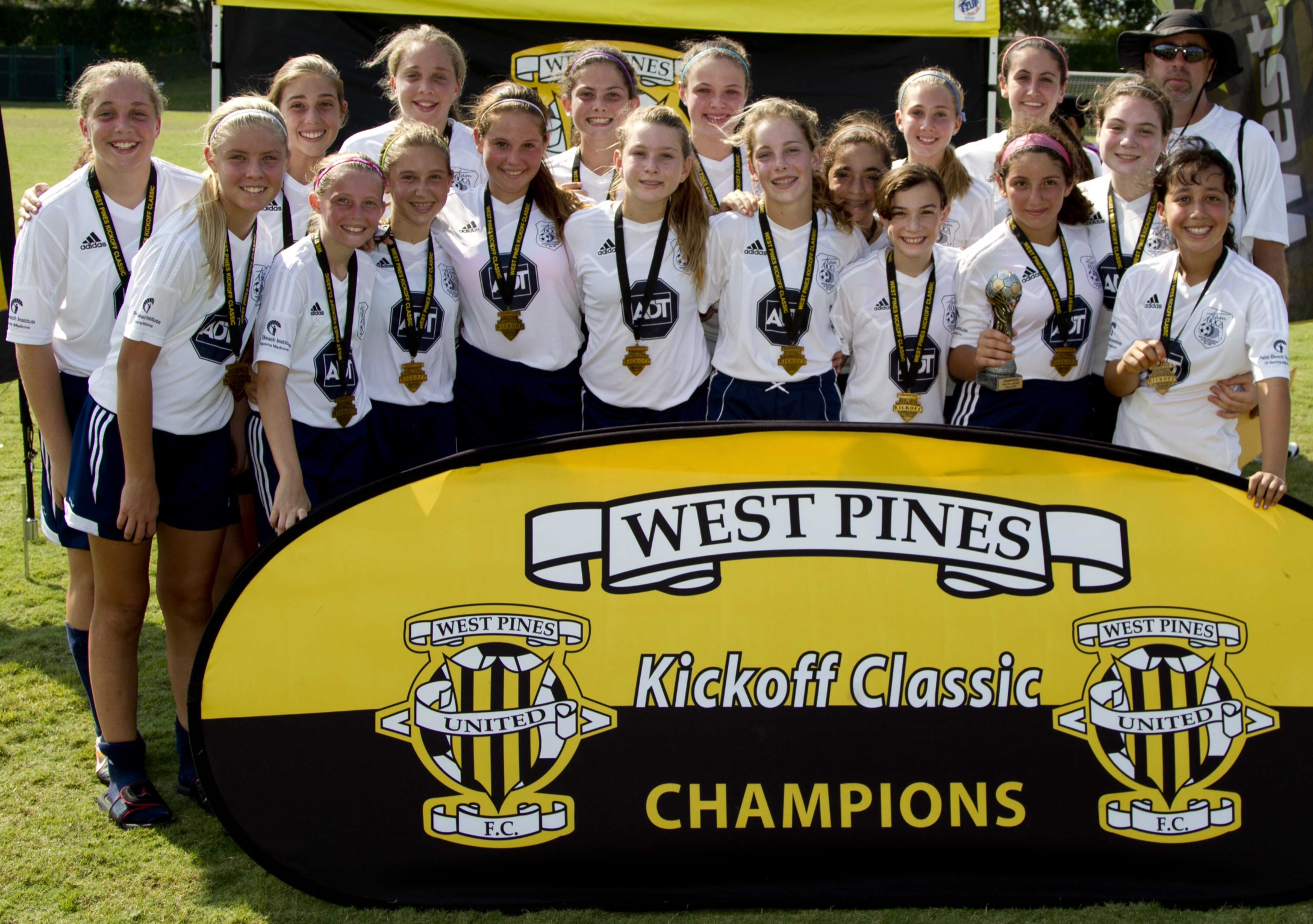 2013 West Pines Kickoff Classic Champions
