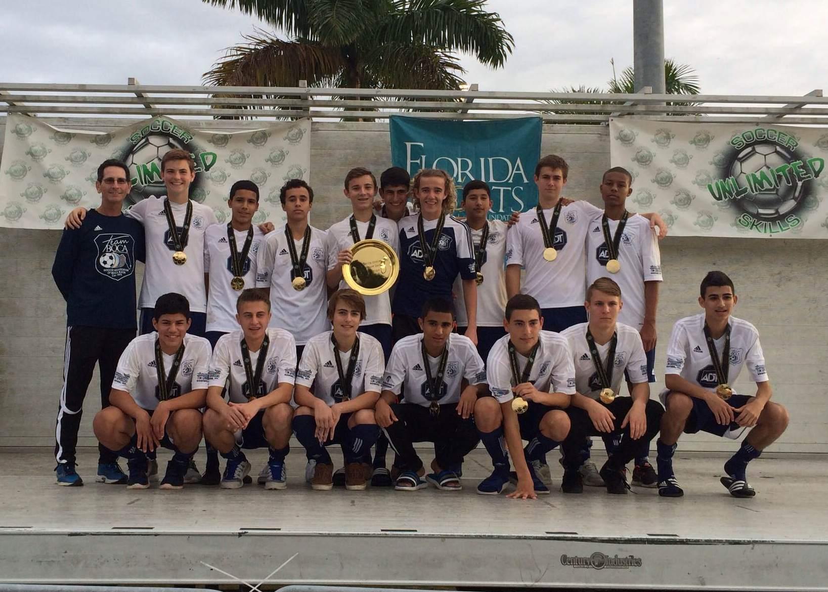 2014 Kelme Cup Champions