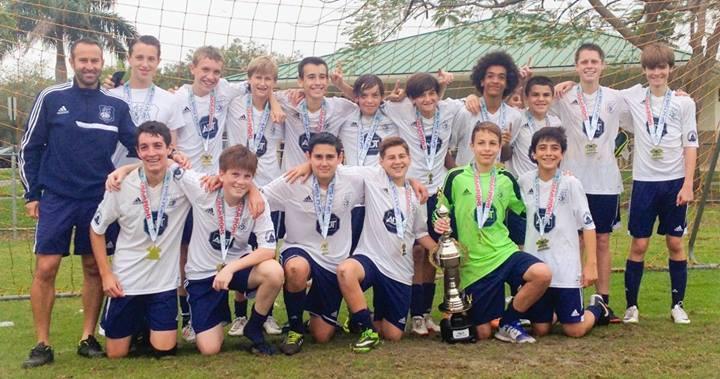 2014 SFU League Champions