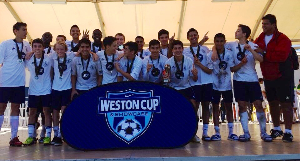 2014 Weston Cup Champions