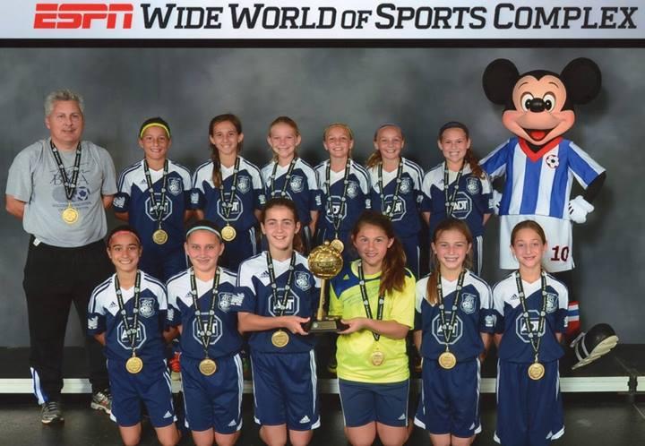 2014 Disney President's Day Champions