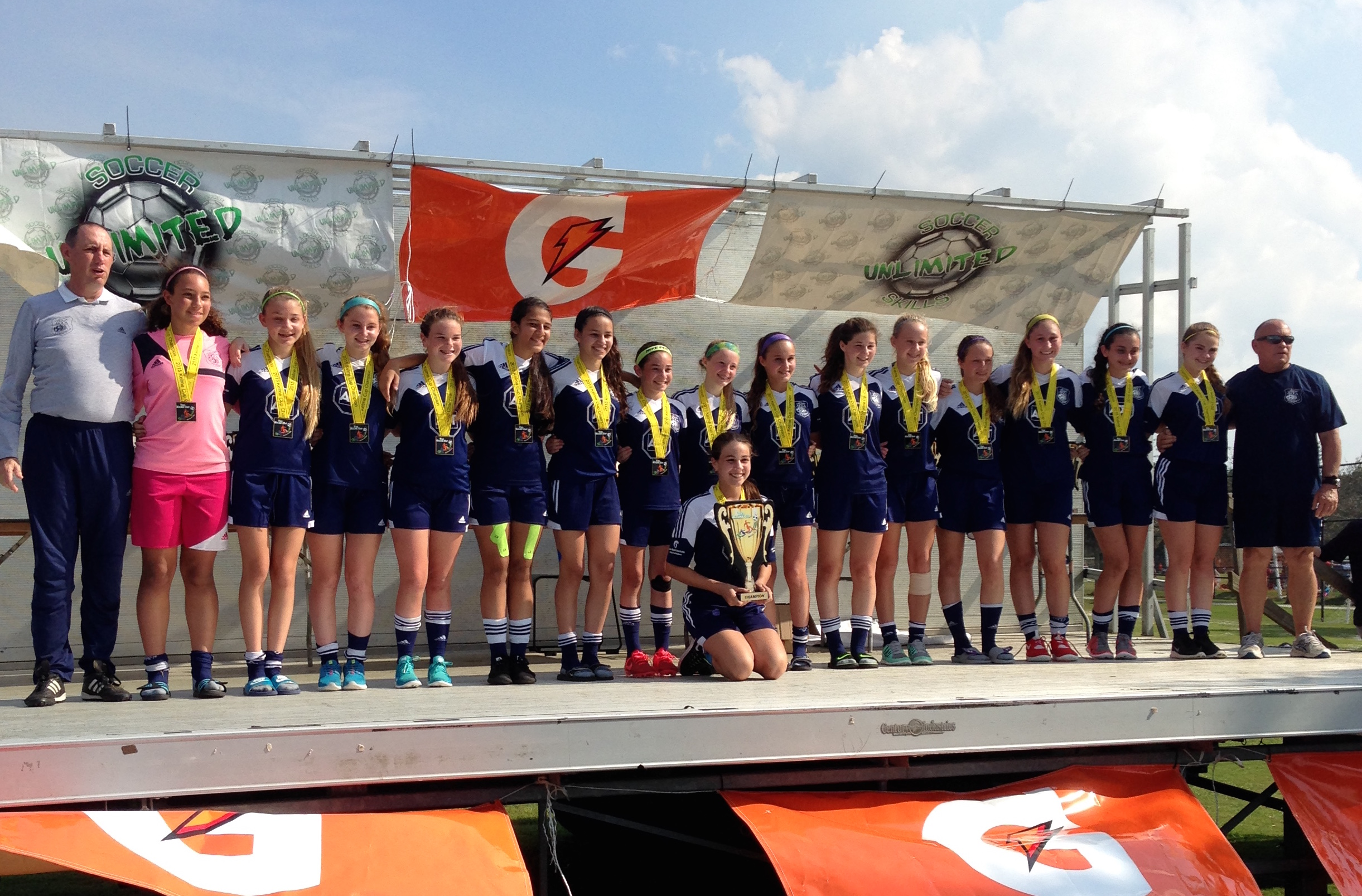 2015 Kelme Cup Champions