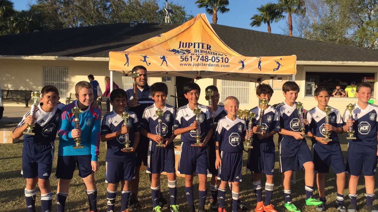 2015 Jupiter Presidents Day Cup Champions