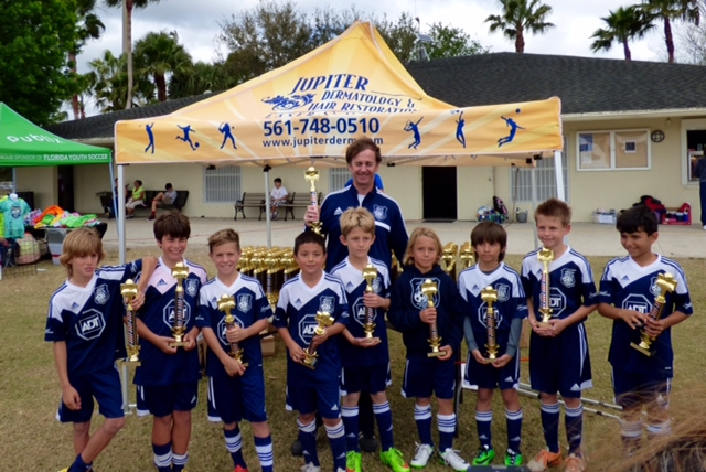 2015 Jupiter President Day Cup Champions