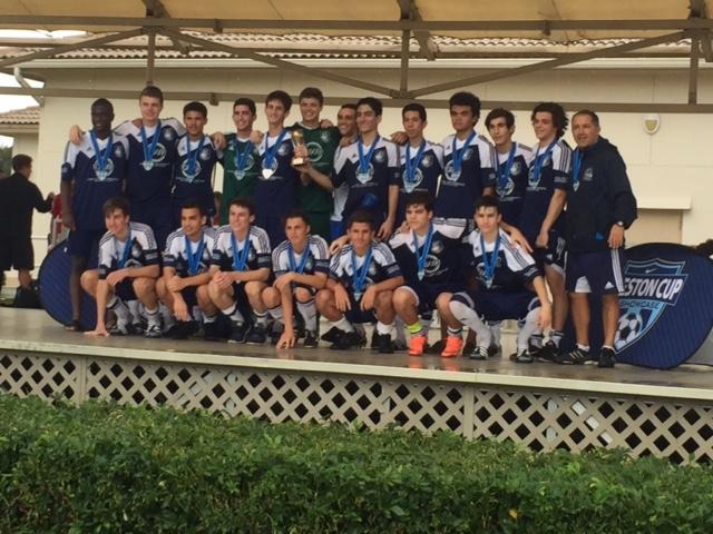 2016 Weston Cup Champions