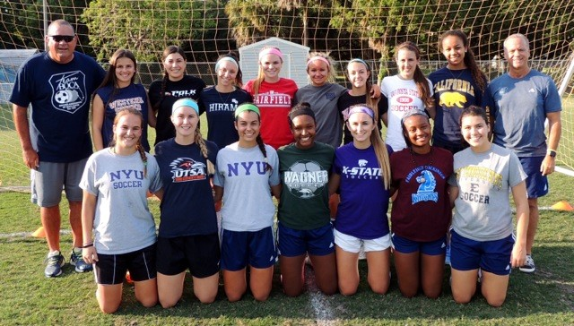 2016 Team Boca Girls College Commitments